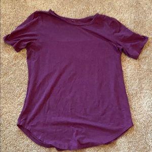 Lululemon loose short sleeve shirt